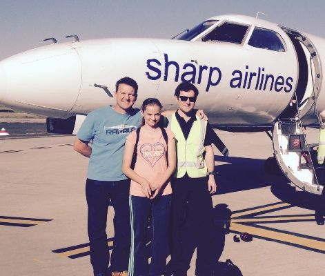 Rob's second eldest daughter Emily joins the team for their first visit to King Island