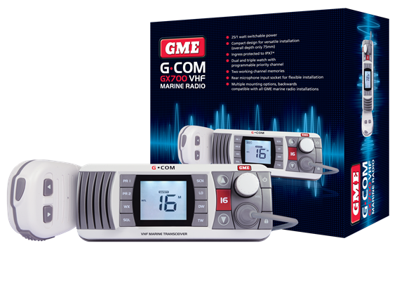 GX700 – VHF Marine Communication with Configuration Flexibility