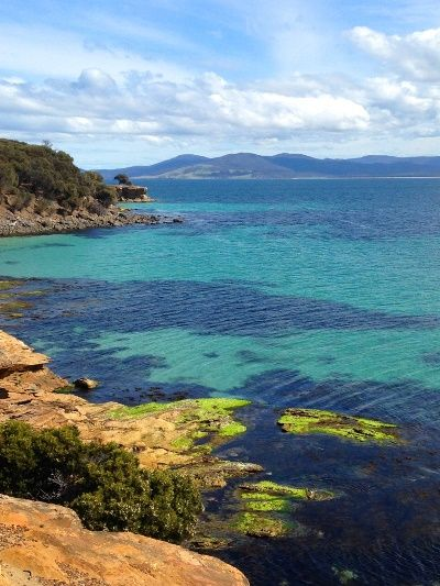 Fishing Australia also visited stunning Maria Island