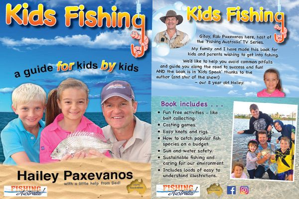 Kids Fishing Guide – a new book that's hit a chord with families