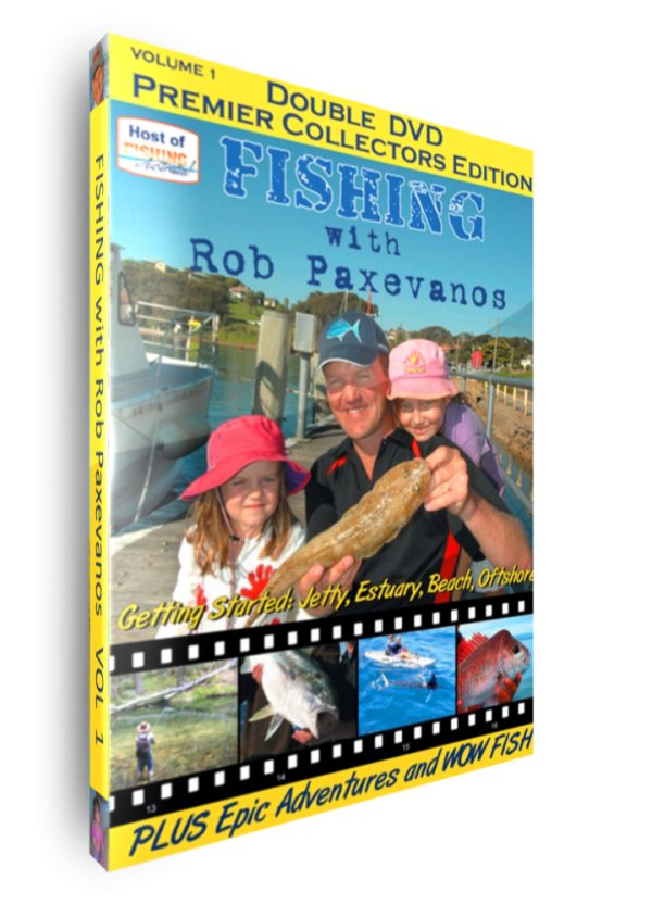 Fishing with Rob Paxevanos [DVD]