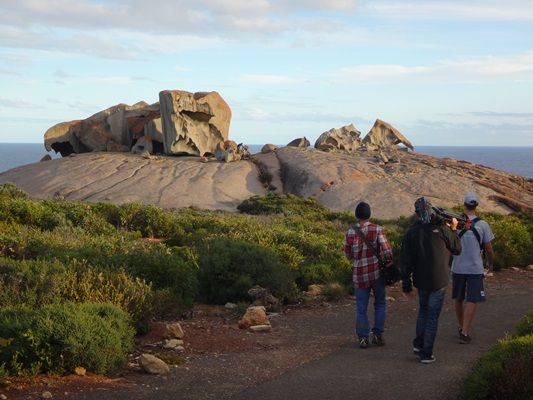 The path to remarkable rocks