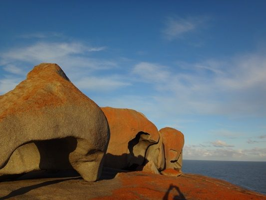 Remarkable rocks are best viewed at sunset
