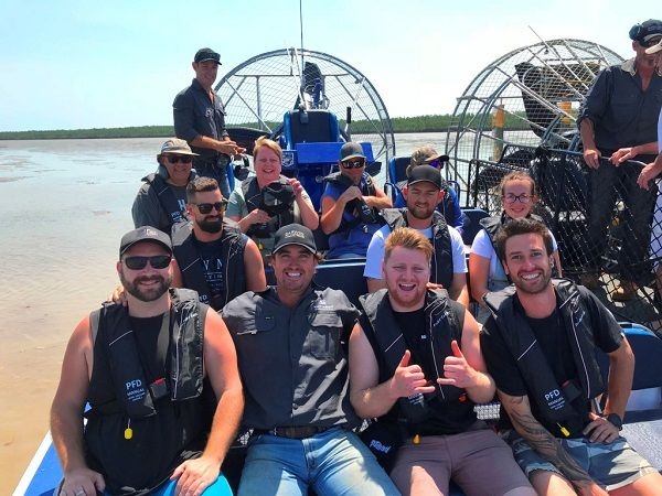 The new AirBoat tour of the Harbour gets the adrenaline pumping
