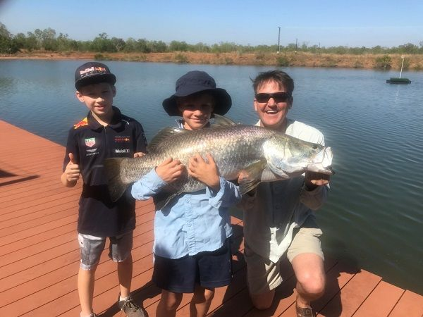 The new 'Barramundi Adventures Darwin' is a family friendly set up just 45 min drive from the city