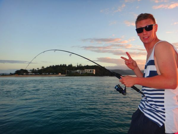 Keen Fisho and Fishing Australia Fan Drew Duncan sent in this cool shot
