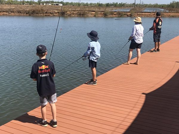 Barramundi Adventures just 45min from Darwin is Fishing's version of mini golf