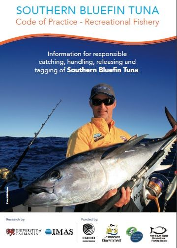 The new SBT code of practice is a brilliant new guide for anglers, find it here www.imas.utas.edu.au/SBTCode