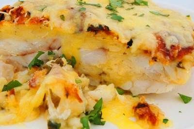 Three cheese snapper bake – A sensational winter dish