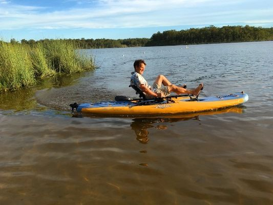 A new type of kayak loaded with technology