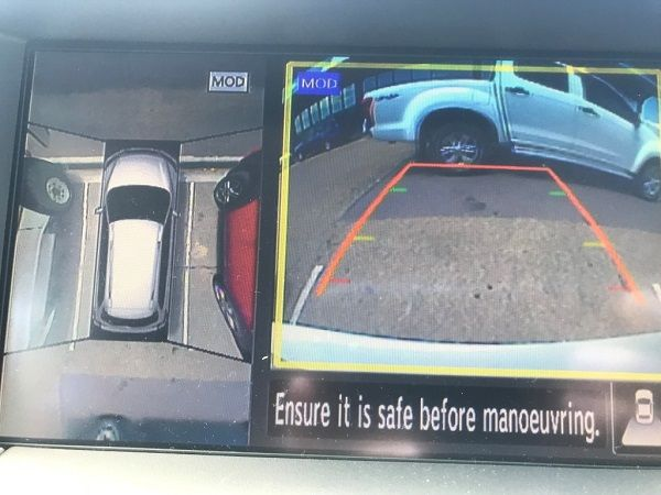 The reversing Cameras were as good as I have found