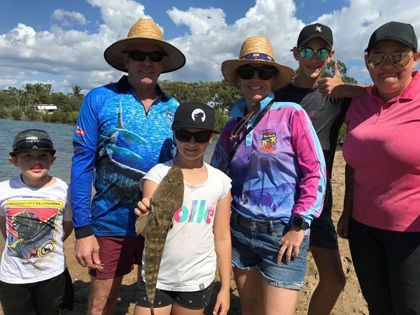 Family Fishing Clinics on site