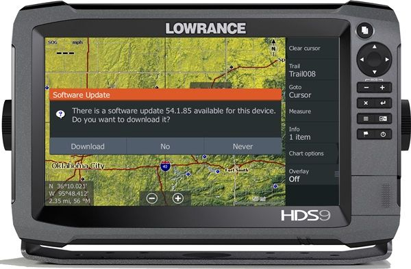 Lowrances new wireless diagnostic tool offers on water service and support
