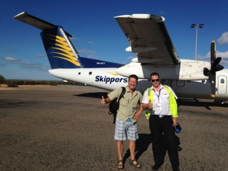 Skippers flies direct to Shark Bay from Perth