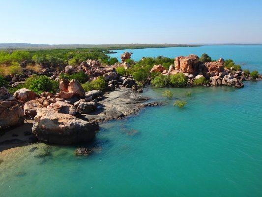 Kimberley Coastal Camp has some of the most picturesque and piscatorially blessed coastlines Fishing Australia has visited